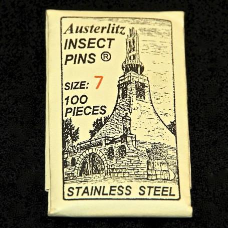 Epingles à Insectes Inox ( x100 )
