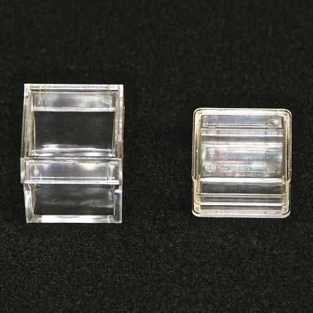 Boites Cristal Carrées ( x10 )