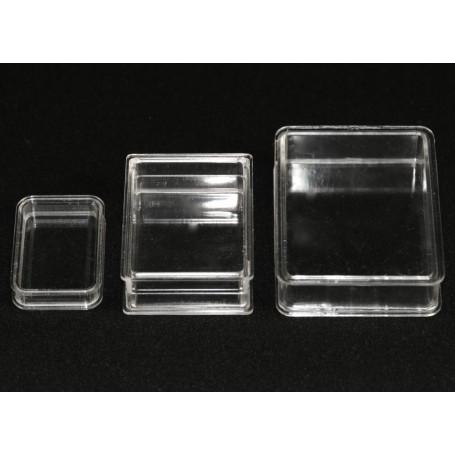 Boites Cristal Rectangulaires ( x10 )